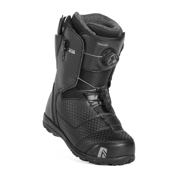 Boots Snowboard Nidecker Tracer H-Lock Boa Coiler Black