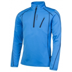 protest HUMANY 1/4 ZIP TOP BLUE